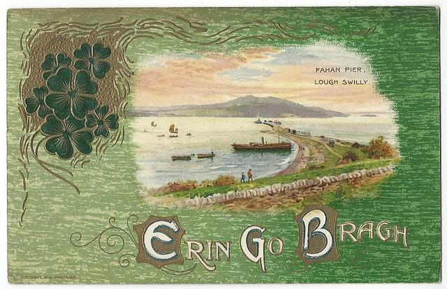 Ireland landscape 1910
