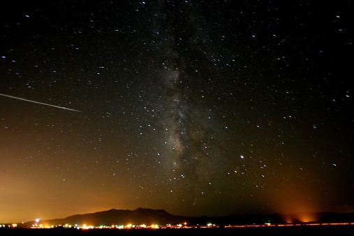 Perseids Meteor Shower. Getty images.