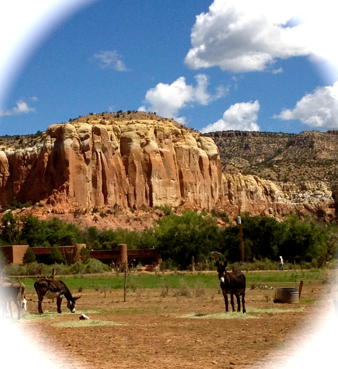 Abiqui Mountain-Ghost Ranch, NM-alvaradofrazier.com