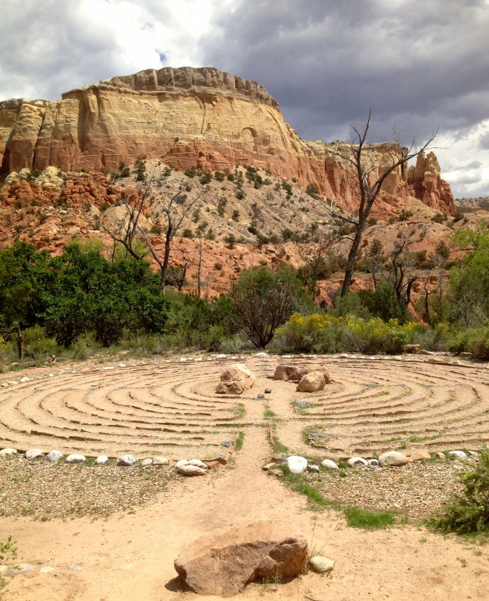 The Labyrinth at Ghost Ranch