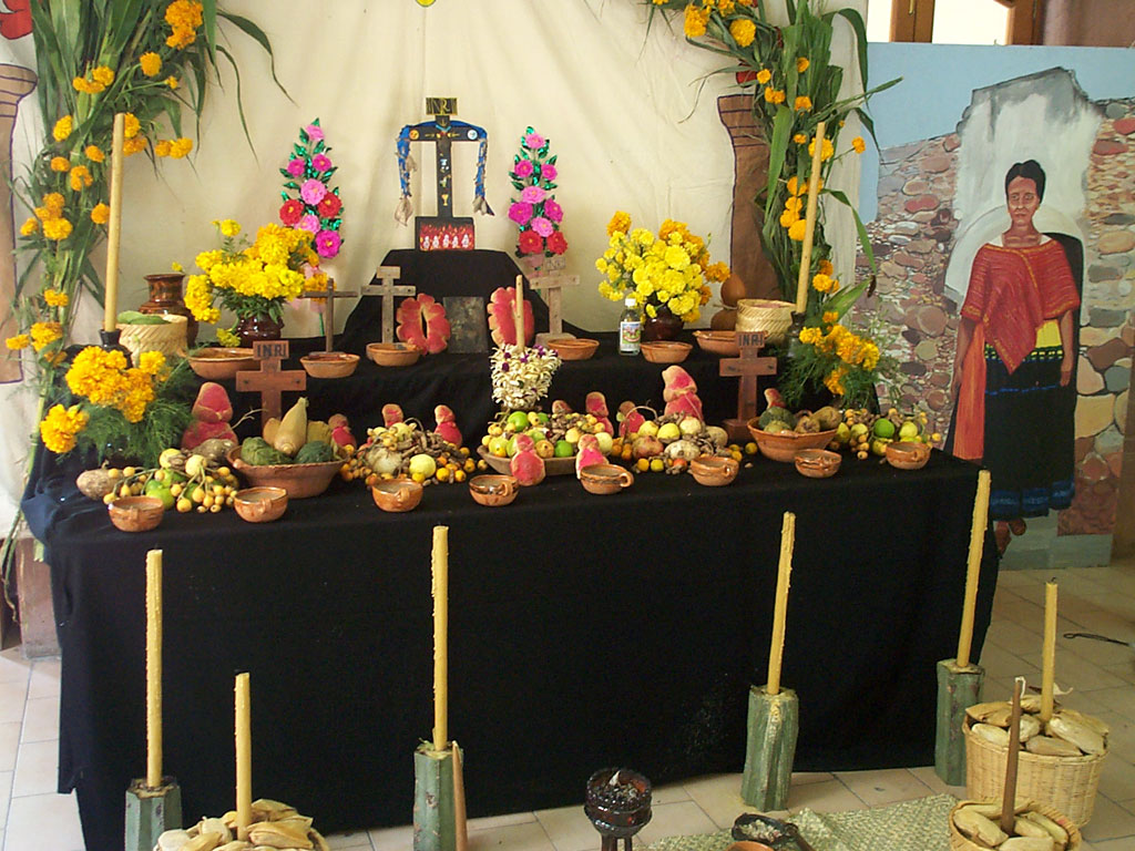 Day of the Dead Altar-Mexico, Wiki Images