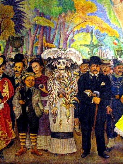 The Kid-Diego Rivera. Wiki Creative Commons Lic.