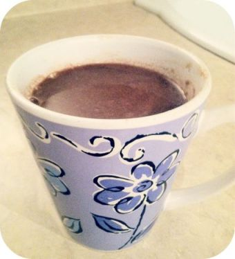 Mexican Champurrado-thick hot chocolate drink