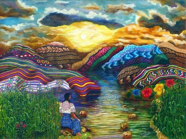 Canto A La Naturaleza/Ode to Nature-Paula Nicho Cumes, Artist