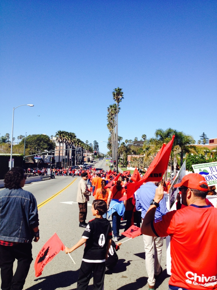 Cesar Chavez Day March-Oxnard, CA-alvaradofrazier.com