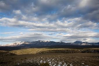 Sangre de Cristo Mountains, Santa Fe