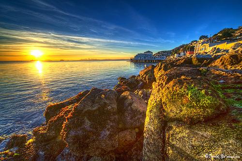 Sausalito Sunrise by David Yu