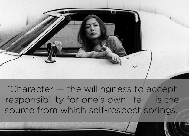On Character by Joan Didion, photo by Buzzfeed