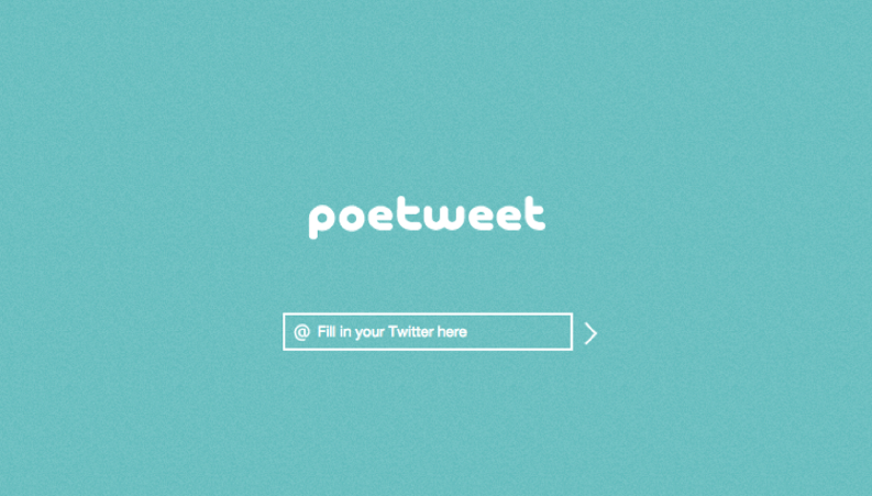 poetweet screen shot