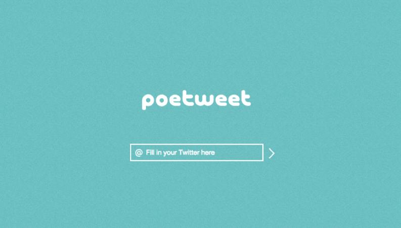 poetweet screen shot