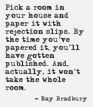 Rejection and Writing-Ray Bradbury