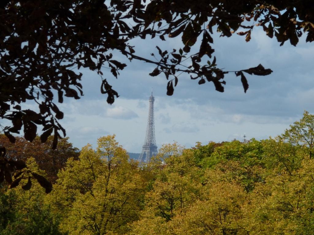 Eiffel Tower, Pere Lachaise cemetery, Paris