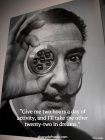 Dali quote, art and dreaming