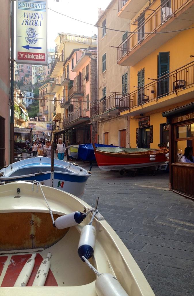 Watch where you're walking in Vernazza, Cinque Terre, alvaradofrazier.com