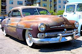 old 1950 Mercury car