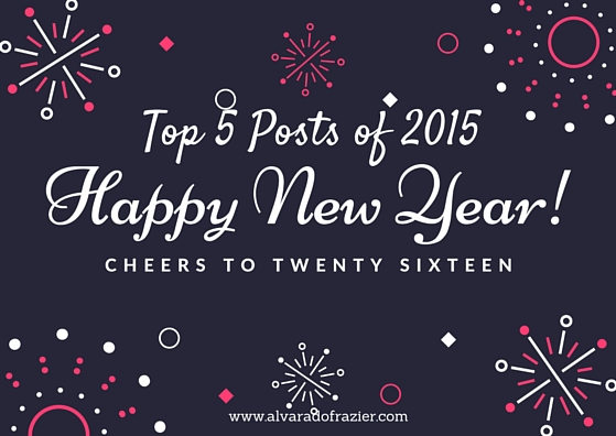 Top 5 #blog posts of 2015, blog posts