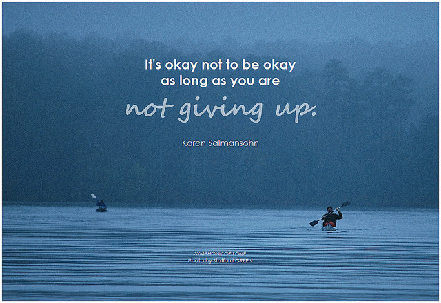 quote on not giving up