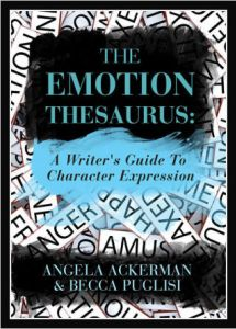book on writing craft, emotions thesaurus, writers companion on character expression