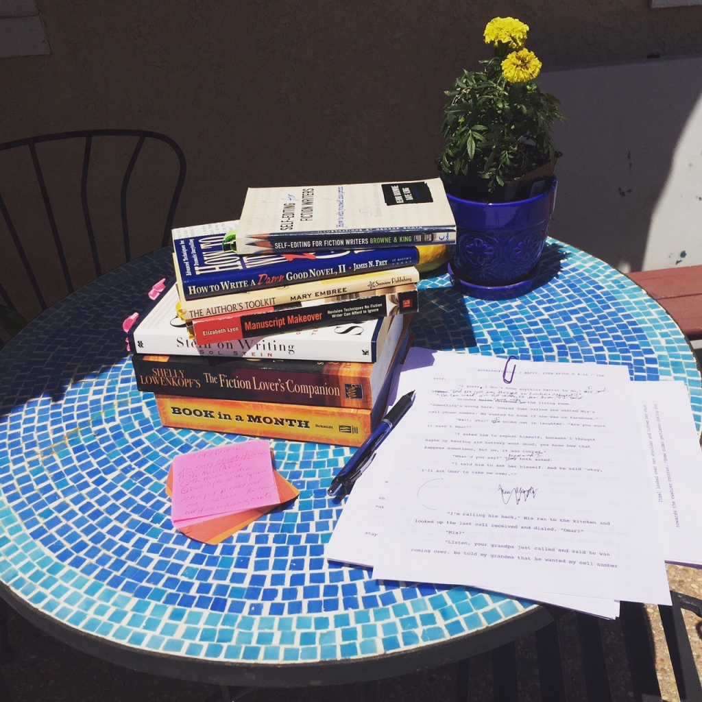 books on writing, books on revision