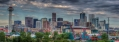 Panoramic view of Denver Skyline