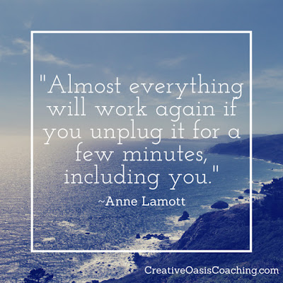 Anne Lamott self care quote