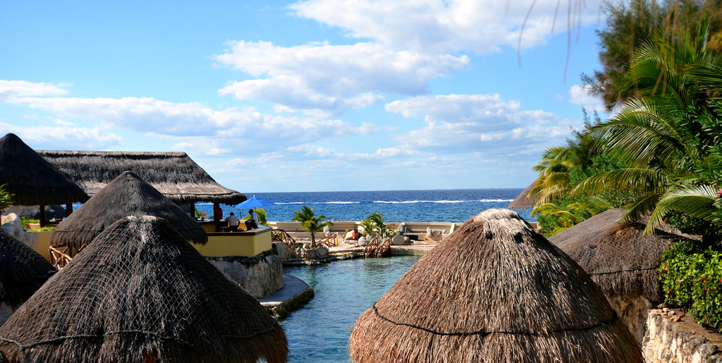 resort at Cozumel, Mexico