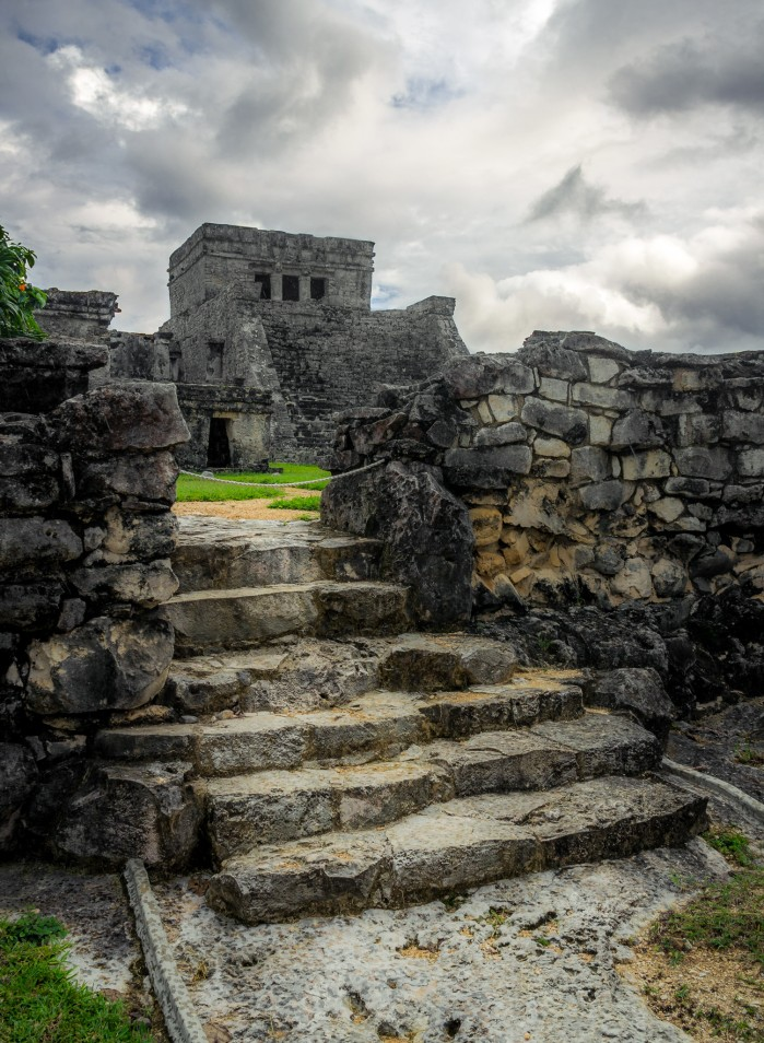 Tulum Pyramid, photo by K. Bauscardt on flickr.com