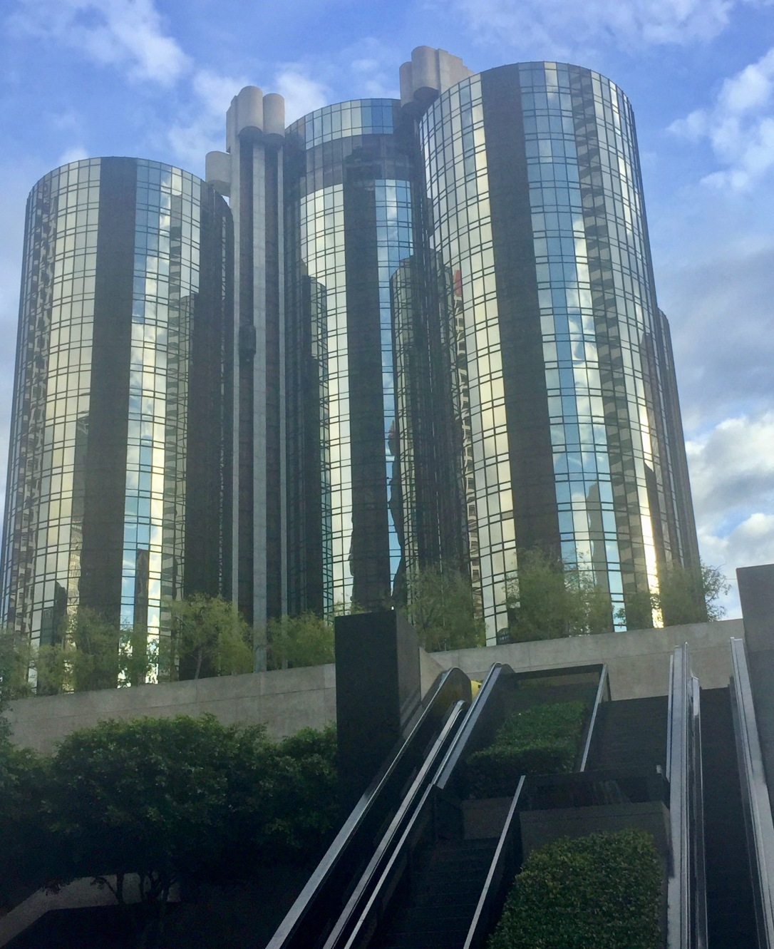 The Westin Bonaventure-Los Angeles, downtown.