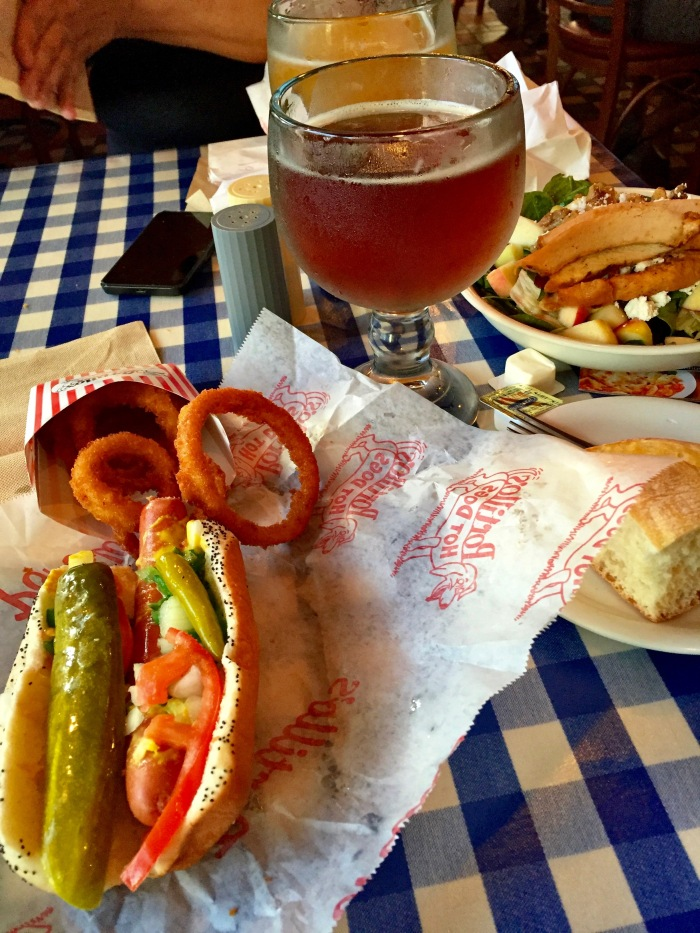 Chicago Hot Dog, Portillo's