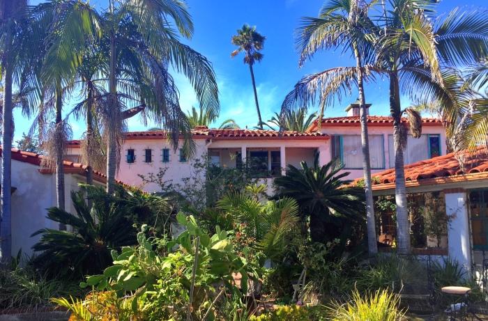 The home of Victor Villaseñor, So. California