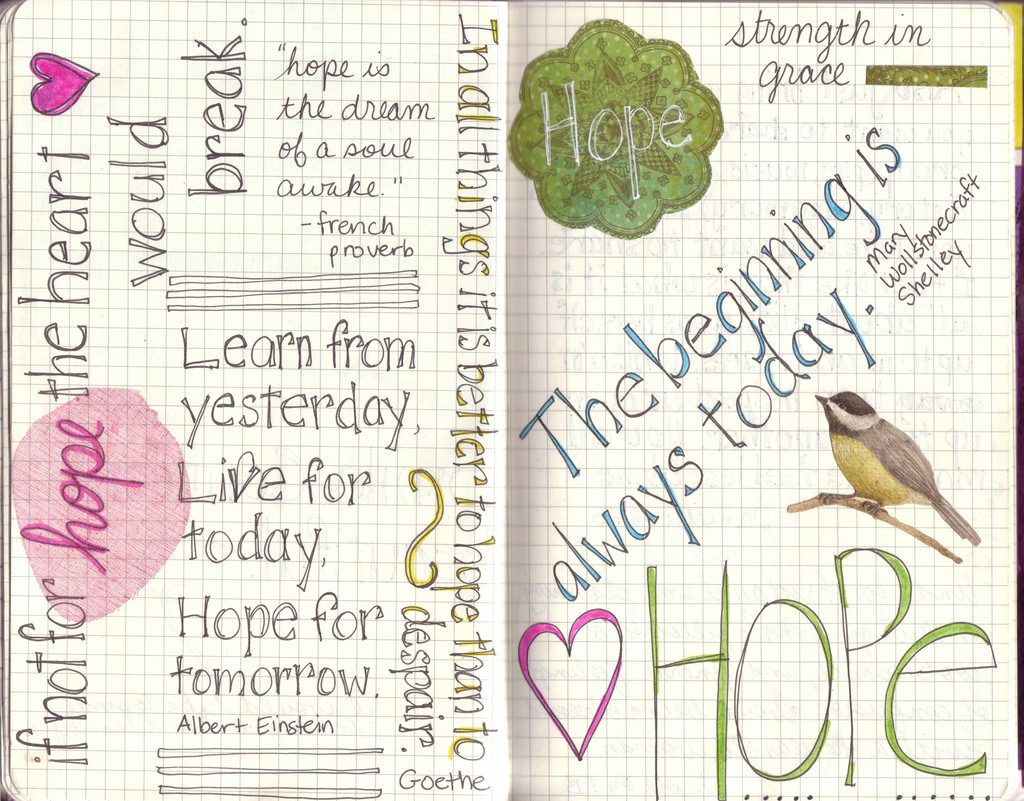 Hope Journal, photo by Elizabeth M. at flickr.com