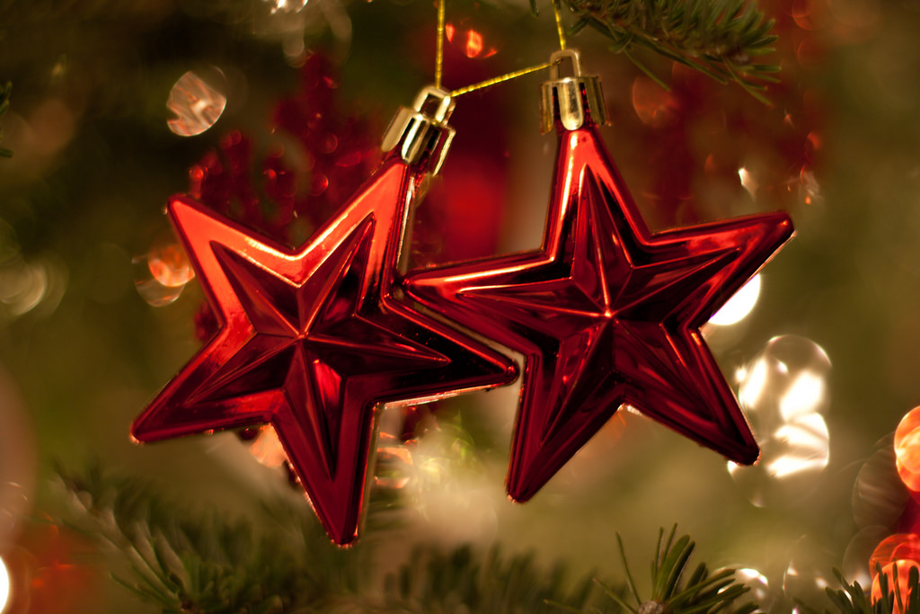 Christmas Stars by J. De La Cruz, flickr.com cc